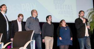 L'équipe de Wiseband, Grand Prix des Vendée Digital Awards 2013 !