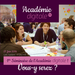 Inscription séminaire Académie digitale de Vendée